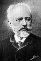 チャイコフスキー肖像